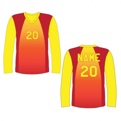 Men's Long Sleeve Caliente Soccer Jersey