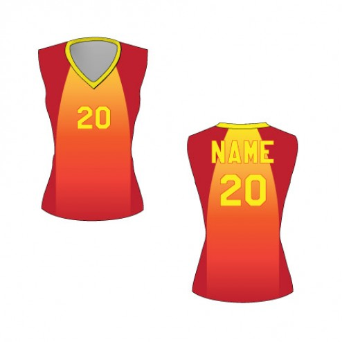 Women's Sleeveless Caliente Basketball Jersey