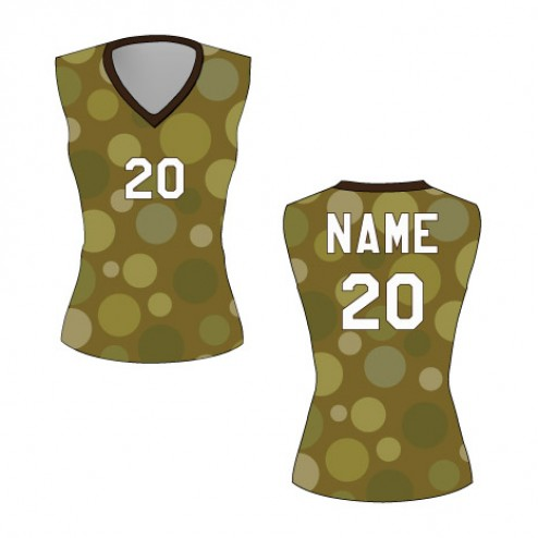 Women's Sleeveless Cosmos Basketball Jersey