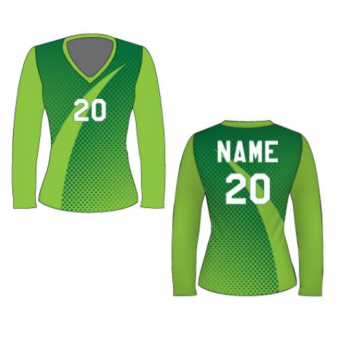 Women's Long Sleeve Predator Soccer Jersey