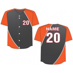 Men's Full Button Dynamo Baseball Jersey