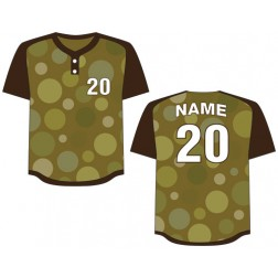 Men's Two Button Cosmos Baseball Jersey
