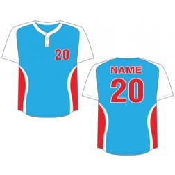 Men's Two Button Cyclone Baseball Jersey