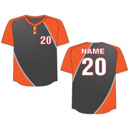 Men's Two Button Dynamo Baseball Jersey