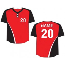 Men's Two Button Legend Baseball Jersey