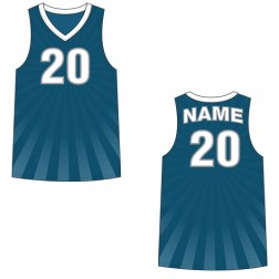 Men's Tank Top Burst Basketball Jersey
