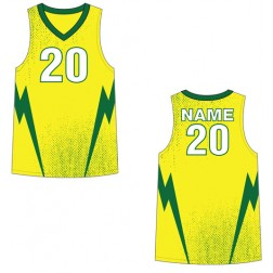 Men's Tank Lightning Basketball Jersey