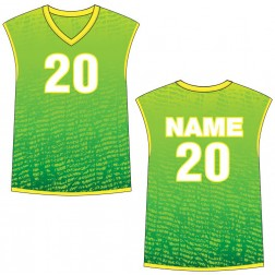 Men's Sleeveless Chaos Basketball Jersey