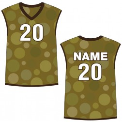 Men's Sleeveless Cosmos Basketball Jersey