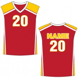 Men's Sleeveless Dominator Basketball Jersey