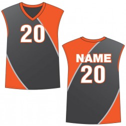 Men's Sleeveless Dynamo Basketball Jersey