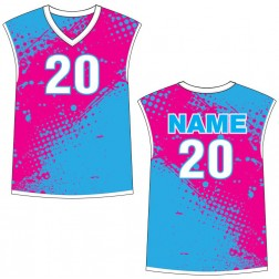 Men's Sleeveless Hermosa Basketball Jersey