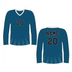 Men's Long Sleeve Burst Soccer Jersey