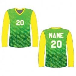 Men's Long Sleeve Chaos Soccer Jersey