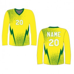 Men's Long Sleeve Lightning Soccer Jersey