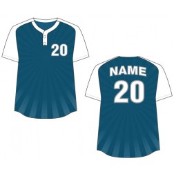 Women's Two Button Burst Fastpitch Jersey