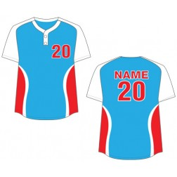 Women's Two Button Cyclone Fastpitch Jersey