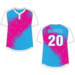 Women's Two Button Hermosa Fastpitch Jersey