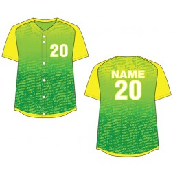 Women's Full Button Chaos Fastpitch Jersey