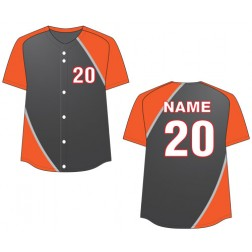 Women's Full Button Dynamo Fastpitch Jersey