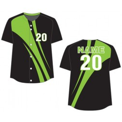 Women's Full Button Laguna Fastpitch Jersey