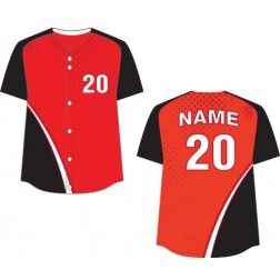 Women's Full Button Legend Fastpitch Jersey