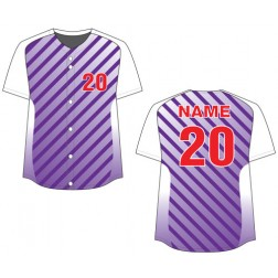Women's Full Button Libertas Fastpitch Jersey