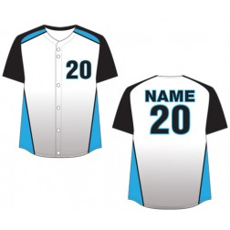 Women's Full Button Magestic Fastpitch Jersey