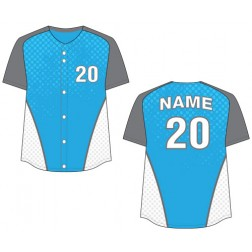 Women's Full Button Mammoth Fastpitch Jersey