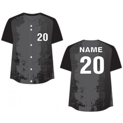 Women's Full Button Rockin Fastpitch Jersey