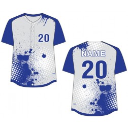 Women's Full Button Storm Fastpitch Jersey