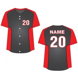 Women's Full Button Turbo Fastpitch Jersey