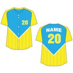 Women's Full Button Venice Fastpitch Jersey