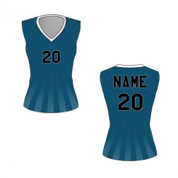Women's Sleeveless Burst Basketball Jersey