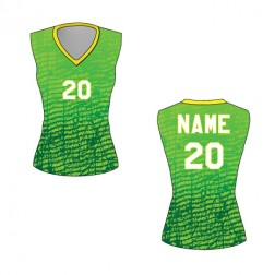 Women's Sleeveless Chaos Basketball Jersey