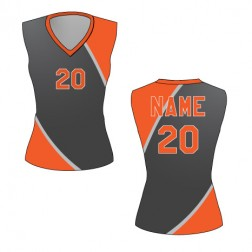 Women's Sleeveless Dynamo Basketball Jersey
