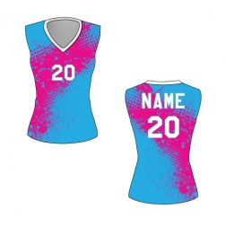 Women's Sleeveless Hermosa Basketball Jersey