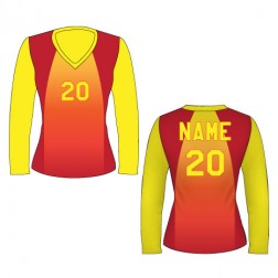 Women's Long Sleeve Caliente Soccer Jersey