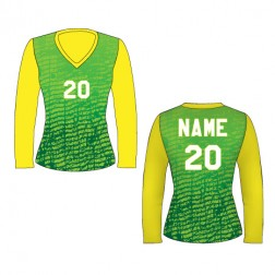 Women's Long Sleeve Chaos Soccer Jersey
