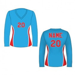 Women's Long Sleeve Cyclone Soccer Jersey
